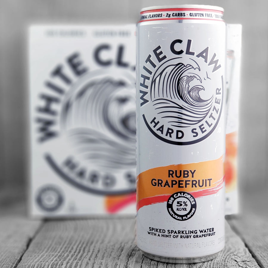 White Claw Hard Seltzer Ruby Grapefruit