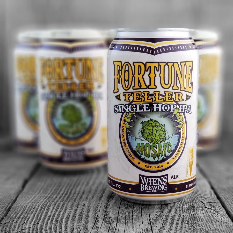 Wiens Fortune Teller Single Hop IPA Mosaic