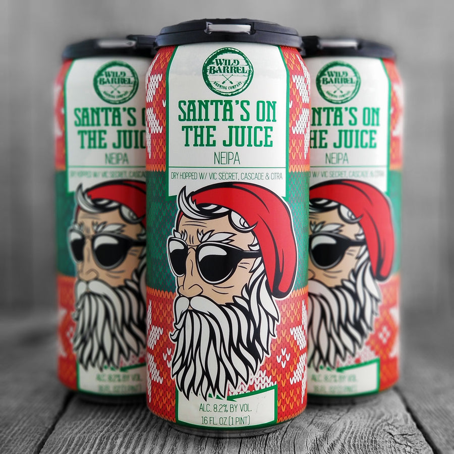 Wild Barrel Santa's On The Juice