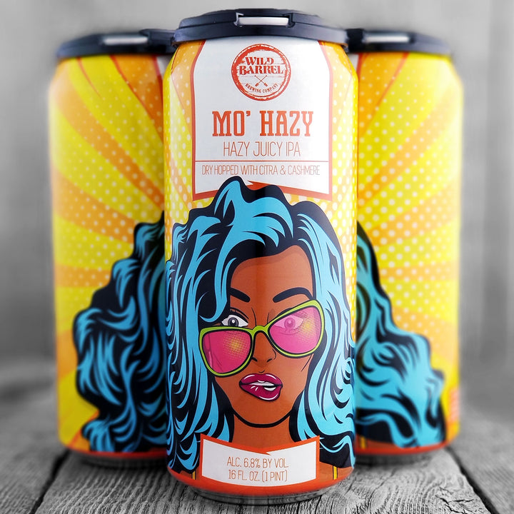 Wild Barrel Mo' Hazy