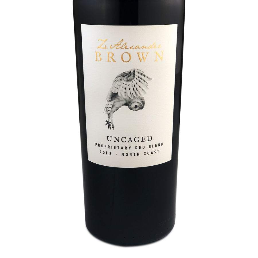 Z. Alexander Brown Uncaged Red Blend 2013
