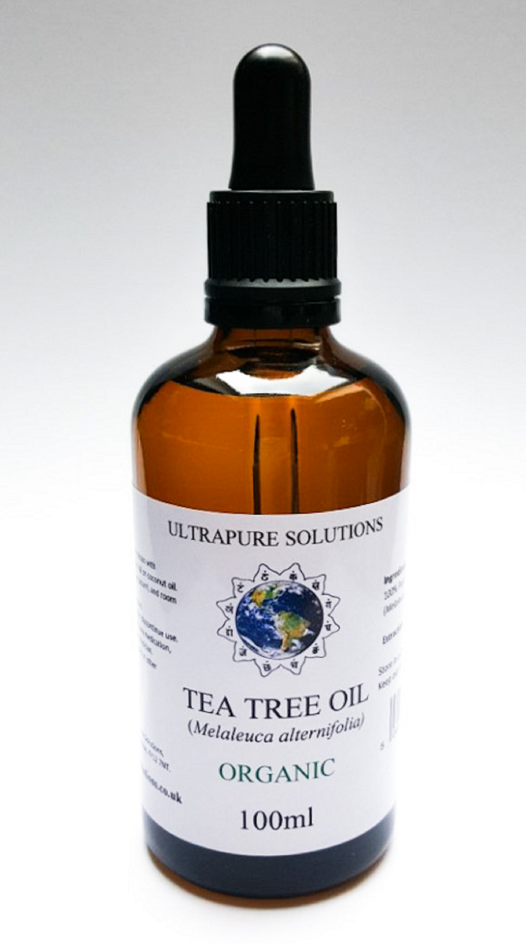 100ml Tea Tree Oil 100% Pure ORGANIC Natural Essential Oil Aromatherapy - Ultrapure