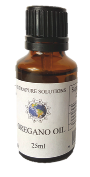 25ml Pure Oregano Essential Oil Wild Mediterranean Minimum 84% Carvacrol - In Carrier Oil - Pipette Or Dropper Cap