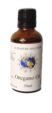50ml Pure Oregano Essential Oil Wild Mediterranean Minimum 84% Carvacrol - In Carrier Oil - Pipette Or Dropper Cap