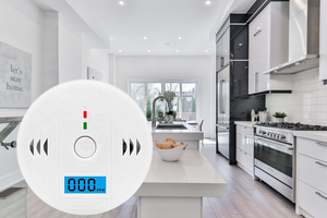 CARBON MONOXIDE CO DETECTOR ALARM DIGITAL LCD DISPLAY - HIGH QUALITY