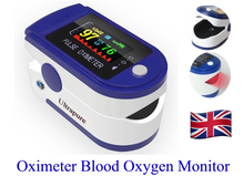 Load image into Gallery viewer, Oximeter Digital Finger Pulse SpO2 Blood Oxygen Monitor Heart Rate Ultrapure A10