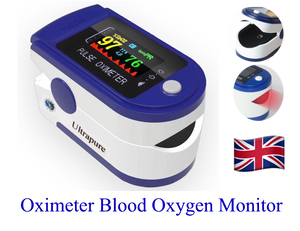 Oximeter Digital Finger Pulse SpO2 Blood Oxygen Monitor Heart Rate Ultrapure A10
