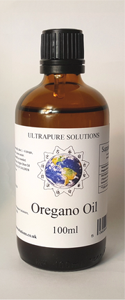 100ml Pure Oregano Essential Oil Wild Mediterranean Minimum 84% Carvacrol In Carrier Oil - Pipette Or Dropper Cap