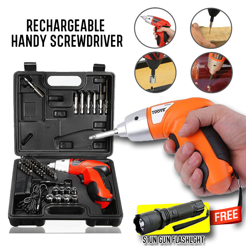 Rechargeable Handy Screwdriver Promo