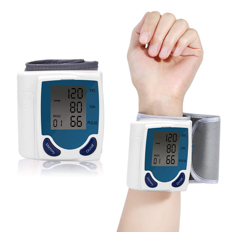 Automatic Travel Wrist Blood Pressure Monitor