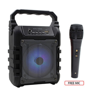 Portable Bluetooth Karaoke Machine