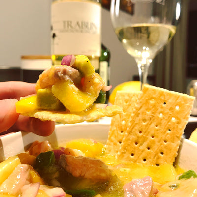 Ceviche Tropical - Receta Chileanwines