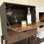 Archer Drop Down Bar Cabinet