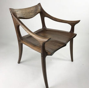 Walnut Maloof Chair