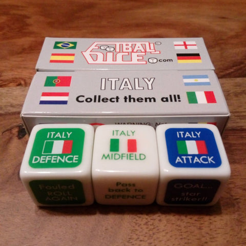 ITALY - Football Dice™ | World Edition