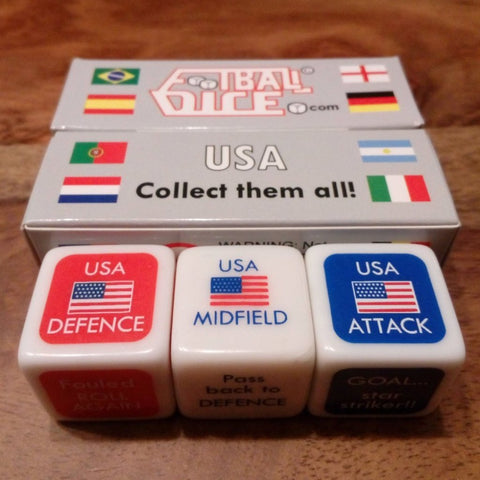 USA - Football Dice™ | World Edition