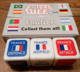 FRANCE - Football Dice™ | World Edition