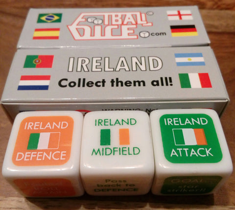 IRELAND - Football Dice™ | World Edition