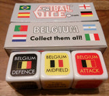 BELGIUM - Football Dice™ | World Edition