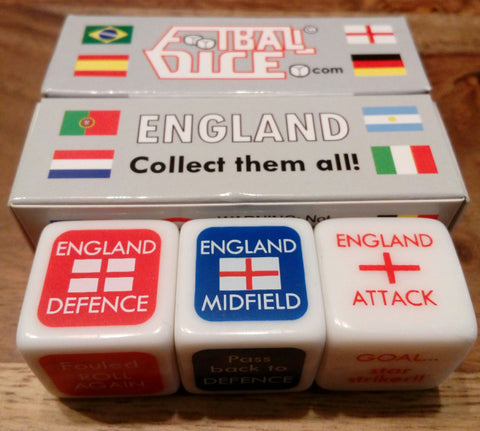 ENGLAND - Football Dice™ | World Edition