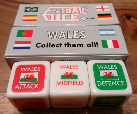 WALES - Football Dice™ | World Edition