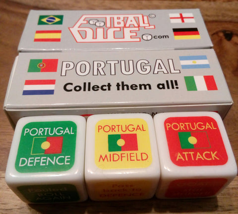 PORTUGAL - Football Dice™ | World Edition