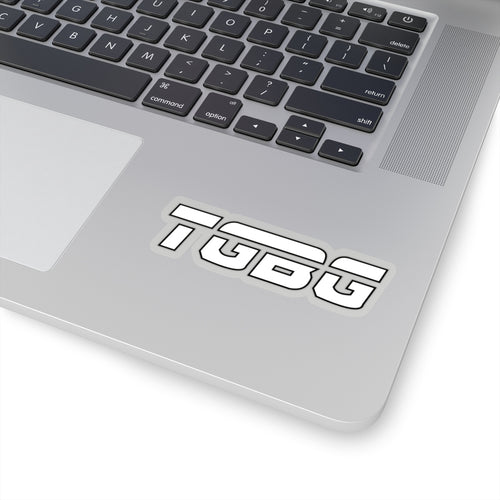 TGBG White Sticker