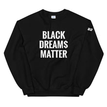 Load image into Gallery viewer, TGBG BLK Dream$ Sweatshirt