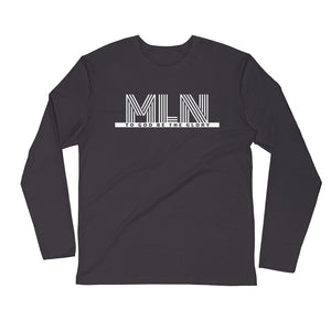 "TGBG BHM 2K20 ""Melanin"" Fitted Long Sleeve Tee"