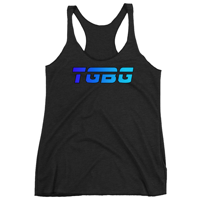TGBG Women's FreezyBlue Racerback Tank