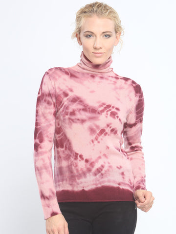 Hand Dye Turtleneck