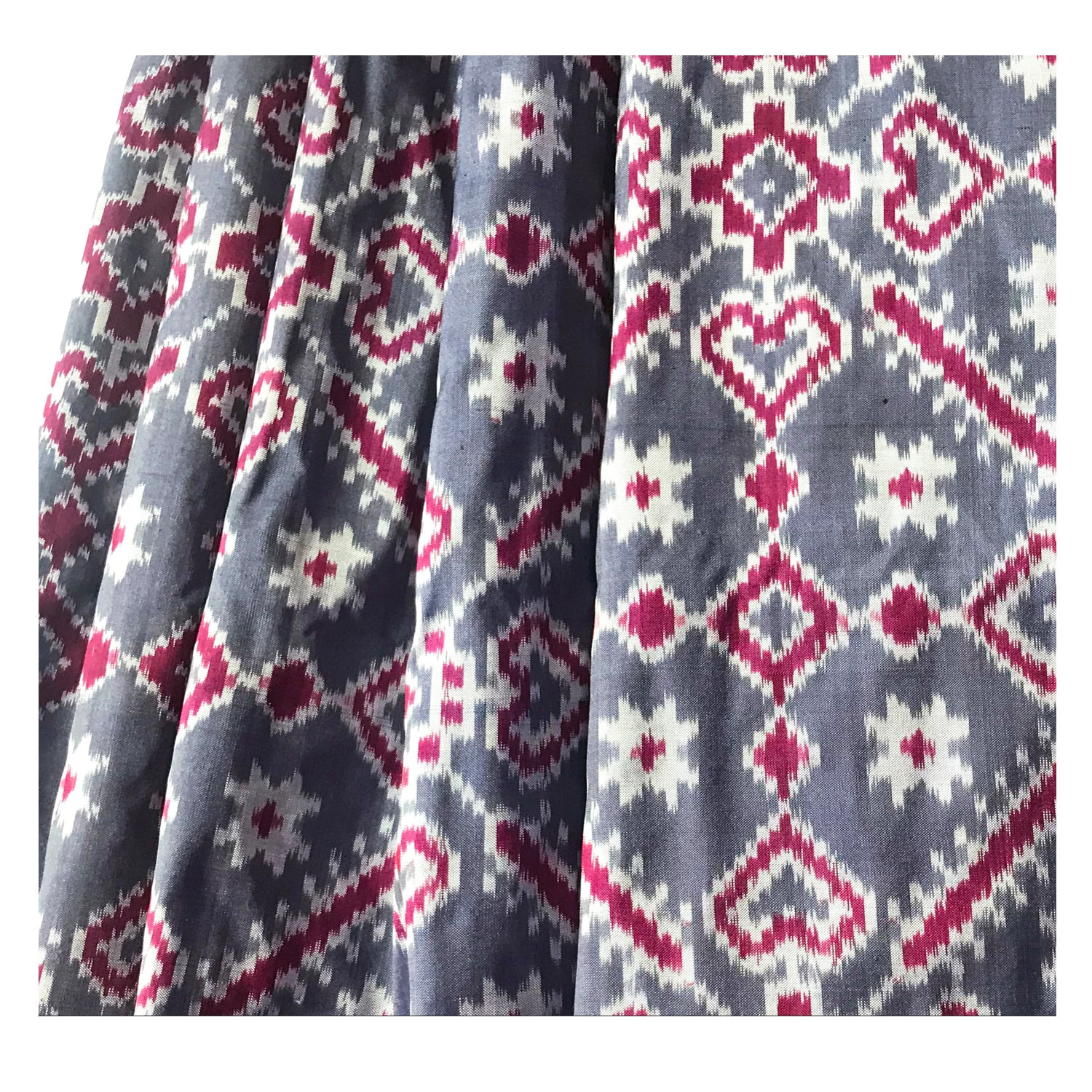 Natural Dye Ikat Saree