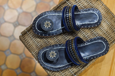 Handcrafted Leather Chappal - EARTHICA