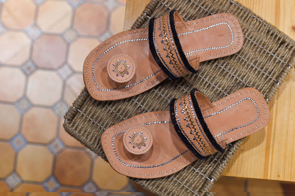 Handcrafted Leather Chappal