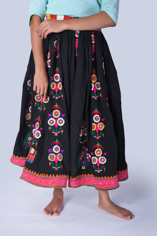 Banjara Embroidered Skirt from Kutch