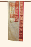 Tissue gold chanderi saree - EARTHICA