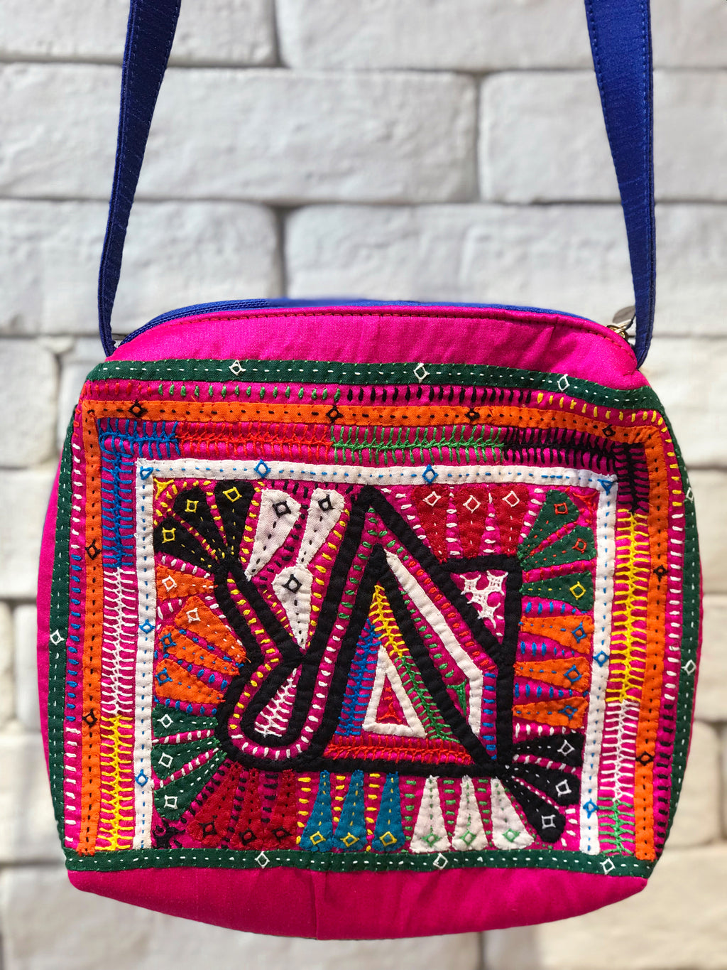 Kutch Hand Embroidered Sling Bag