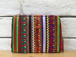 Kutch Hand Embroidered Coin Purse - EARTHICA