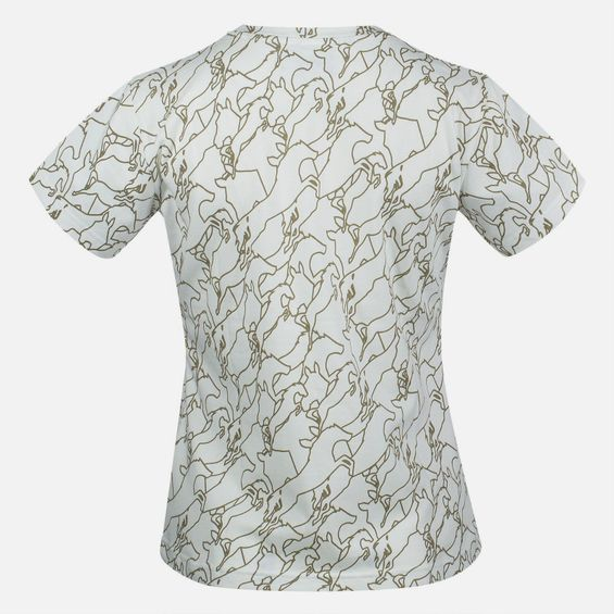 Tracy Horse Patterned T-Shirt