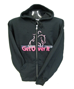 Get Over It - Zip Up Hoodies