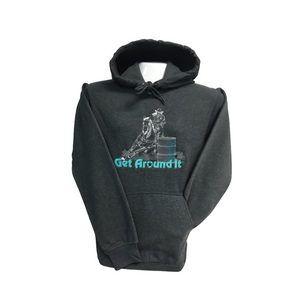 Get Around It - Grey Pullover Hoodies