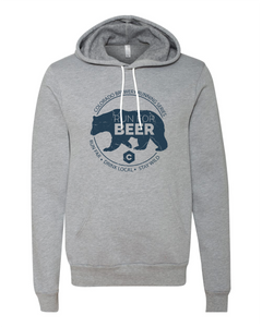 Run For... Bear - Hoodie - Unisex - Athletic Heather