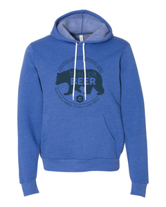 Run For... Bear - Hoodie - Unisex - Heather True Royal