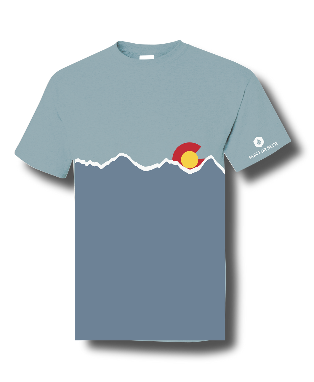 VersaTek CO Mountains Tech Blend T-Shirt