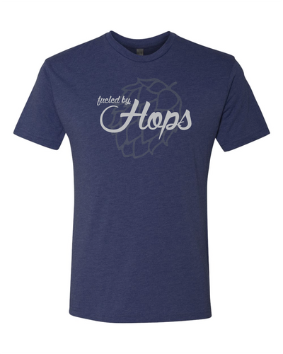 Fueled by Hops - Vintage Navy
