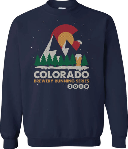 Ugly Christmas/Holiday Sweater 2019 - Navy