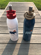 Load image into Gallery viewer, 24oz Liberty Water Bottle Sport Cap - Red or Coyote