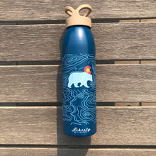 Load image into Gallery viewer, Topo Bear - 24oz Liberty Water Bottle - Classic (Navy)