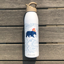 Load image into Gallery viewer, Topo Bear - 24oz Water Bottle (Liberty) - Whitetail