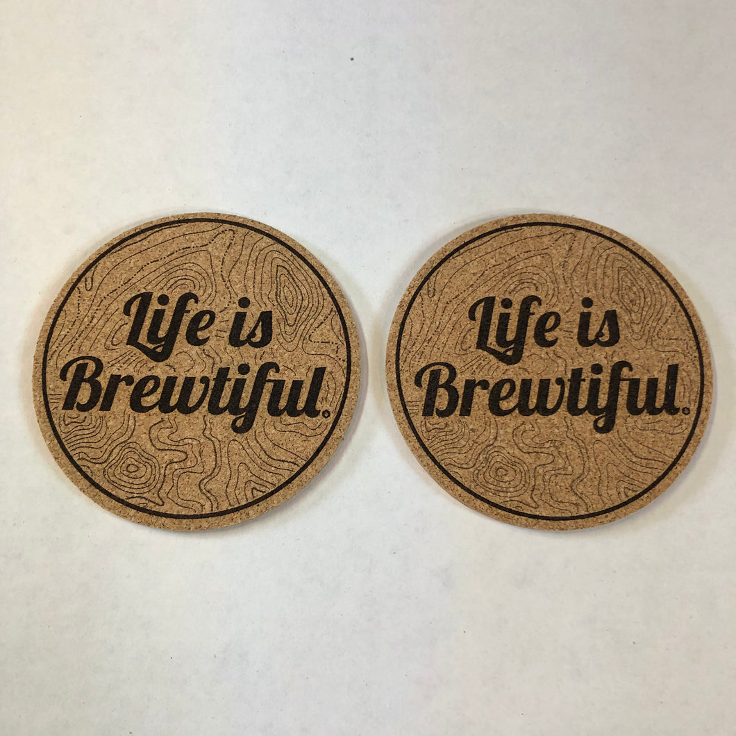Life is Brewtiful - Coaster Set